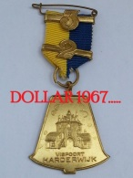 Medaille :   Vispoort Hardenwijk  1961  - Netherlands - Pays-Bas