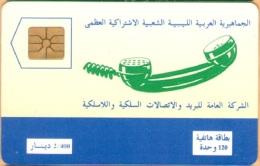 Libya - LBY-03, General Posts And Telecommunications Co. (GPTC), Telephone Receiver, 2.000ex, 1992, Mint - Libya