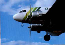 Douglas DC-3 Air Atlantique Airways Airlines DC 3 Aviation Air - 1946-....: Era Moderna