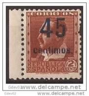 ESNE28SGDEV-L3276TCES.España Spain Espagne. BLASCO IBAÑEZ SOBRECARGADO.1938. (Ed NE 28**)  Sin Chanela BONITO - Escritores
