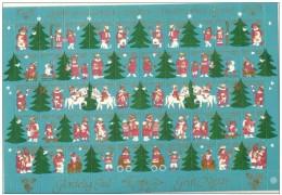 DENMARK 1980 Christmas Seals Complete Unfolded Sheet MNH / ** - Denmark