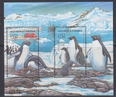 Chile 1993 Antarctica / Penguins M/s  ** Mnh (31699E) - Chili