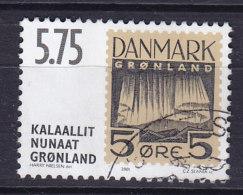 Greenland 2001 Mi. 371     5.75 Kr Internationale Briefmarkenausstellung HAFNIA '01 Nicht Realisierte Freimarkenentwürfe - Usati