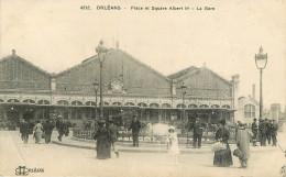 Dép 45 - Militaria - Cachet Au Dos Gare Des Aubrais Commission Militaire - Chemins De Fer - Gares - Orléans - état - Orleans