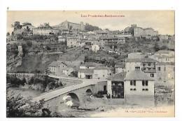 SAINT-LIZIER  (cpa 09)  Vue Générale - Les Pyrénées Ariegeoises  -  - L 1 - Autres Communes