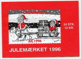 DENMARK 1996 Christmas Seals Booklet MNH / ** - Denmark