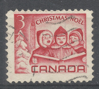 Canada 1967, Scott #476 Christmas: Singing Children And Peace Tower, Ottawa (U) - 1952-.... Règne D'Elizabeth II