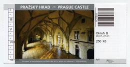 Ticket D´entrée / Entrance Ticket / Entreebewijs - Castle Of Prague, Czech Rep. Adult. - Tickets D'entrée