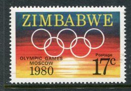 Zimbabwe 1980 Olympic Games MNH - Zimbabwe (1980-...)
