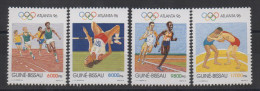 Guiné-Bissau Guinea Guinée Bissau 1996 Jeux Olympiques Olympic Games Olympia Atlanta Mi. 1233-1236 MNH ** - Guinée-Bissau