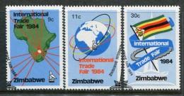 Zimbabwe 1984 Zimbabwe International Trade Fair Set Used - Zimbabwe (1980-...)