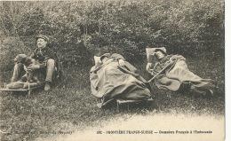 Frontière Franco Suisse Douaniers Français à L' Embuscade Chien - Douane
