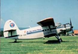 Antonov AN-2 LSC Para Centrum Pribram Airlines AN 2 Aviation Air - 1946-....: Moderne