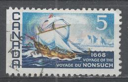 Canada 1968, Scott #482 The Nonsuch (U) Stamp From Left Side Of A Sheet - 1952-.... Règne D'Elizabeth II
