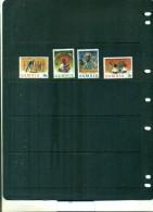 ZAMBIE 60 PRESIDENT KAUNDA 4 VAL NEUFS - Zambie (1965-...)
