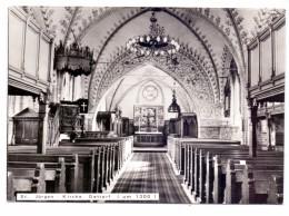 2303 GETTORF, St. Jürgen Kirche, Innenansicht - Gettorf