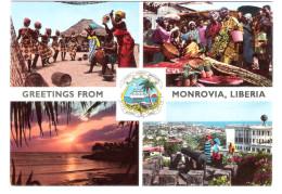 Liberia - Monrovia - Views - Nude Dancing Girls - Femme - Liberia