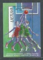 Lituanie BF N° 9 XX  Jeux Olympiques D'été à Atlanta,  Le Bloc Sans Charnière, TB - Lithuania
