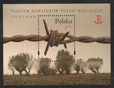 Poland: 1999 Polish War Heroes Miniature Sheet MNH - 1944-.... République