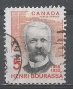 Canada 1968, Scott #485 Henri Bourassa (1868-1952), Journalist And Statesman (U) - 1952-.... Règne D'Elizabeth II
