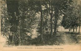 Dép 33 - Chateaux - Tresses - Château Senailhac - E. Margnat Propriétaire - Coin Du Parc - état - Andere Gemeenten
