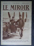Le Miroir N° 40 30 Août 1914 L'aviateur Pégoud; Mort Du 264ème Pape; Les Ambulancières Anglaises En Belgique - Journaux - Quotidiens