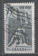 Canada 1968. Scott #486 (U) Canadian Memorial, Near Vimy, France - 1952-.... Règne D'Elizabeth II