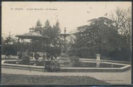 CPA - LUCON - Jardin Dumaine - Le Kiosque - Lucon