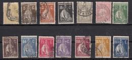 Portugal Ceres 14 Valeurs - 1910-... République
