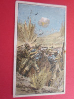 CHROMO IMAGE ANGLAIS GREAT BRITAIN WAR INCIDENTS N°11 HOT TRENCH WORK IN GALLIPOLL FIRE OF THE TURKS - Other