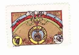 Vignette Militaire Delandre - Angleterre - The Royal Irish Fusiliers - Erinnofilia