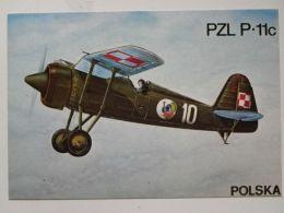 Polish  Fighter  Pzl P11   / Polish Postcard - 1939-1945: 2ème Guerre