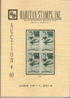 Raritan Stamps Auction 69,Jun 2016 Catalogue Rare Russia Stamps,Errors & Worldwide Rarities - Catalogues For Auction Houses