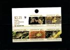 AUSTRALIA - 1992  45c. THREATENED SPECIES   P & S  SHEETLET OF 5  1 KOALA REPRINT MINT NH - Nuovi