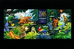 AUSTRALIA - 1994 ZOOS ENDANGERED SPECIES MS  OVPT BRISBANE STAMP SHOW MINT NH - Blocchi & Foglietti