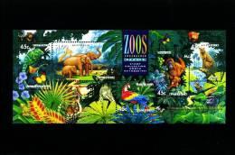 AUSTRALIA - 1994 ZOOS ENDANGERED SPECIES MS  OVPT MELBOURNE STAMP SHOW MINT NH - Blocchi & Foglietti