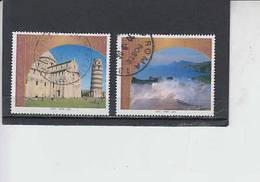 ITALIA  2002 - Sassone  2645/46° - UNESCO - 6. 1946-.. Republic