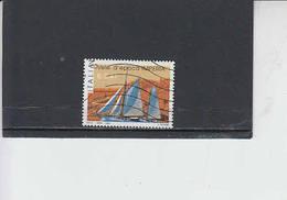 ITALIA  2002 - Sassone  2649° - Sport - Vela - 6. 1946-.. Republic