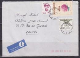 = Enveloppe Pologne Avec Affranchissement 3 Timbres Destination La France - 1944-.... Republik