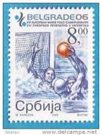 2006 X 160  JUGOSLAVIJA  SERBIA SRBIJA SPORT WATER POLO   RARO IN OFFERTA  MNH