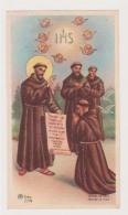 ANTICO SANTINO SAN FRANCESCO EDIT. AR Z/148 HOLYCARD IMAGE PIEUSE ANDACHTSBILD - Imágenes Religiosas