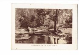 Calendrier 1943 Double Volets - Bords De La Dordogne Lavandière - Publicité Carbel Rue Maillard Paris 11ème - Calendari