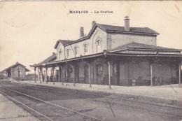 Marloie  La Station Circulé En 1907 - Marche-en-Famenne