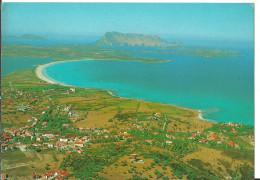 San Teodoro (Olbia) Veduta Aerea, Spiaggia La Cinta, Sullo Sfondo Isola Di Tavolara, Aerial View, Vue Aerienne - Olbia
