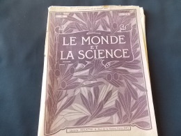 Le Monde Et La Science N 46Mecanographie Orgues Illustrations Orgues Albert Hall Riga Madeleine Saint Denis - Encyclopédies