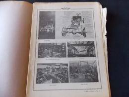 """Le Monde Et La Science N 12 Automobiles Aviculture """" Usines Peugeot Chassis Panhard """" """" Ferme En Beauce Poules Coq """" - Encyclopédies"""