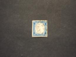 ITALIA - 1863 RE  15 C., (annullo PONTE SAN GIORGIO) - TIMBRATO/USED - Usati