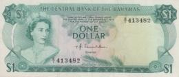 (B0468) BAHAMAS, 1974. 1 Dollar. P-35a. AUNC (AU) - Bahamas