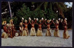 Tahiti *Dancers On The Beach Of Paea* Circulada 1973. - Tahiti