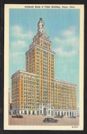 National Bank Of Tulsa Building Tulsa Oklahoma Unused C1934 STK#93880 - Banks